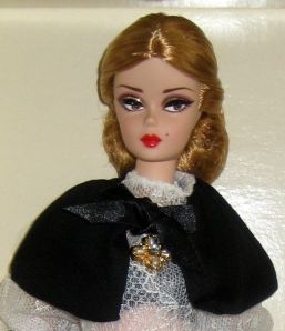 Silkstone Dulcissima Barbie face
