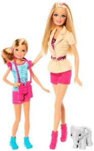 SISTERS' SAFARI FUN Barbie & Stacie - flyer