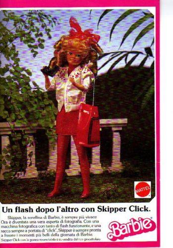 Skipper ad Mattel Italy