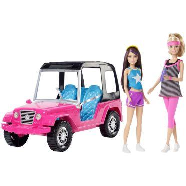 skipper barbie jeep
