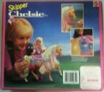 Skipper Chelsea Pony, Barbie #10081, 1992 back box