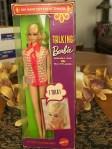 1115~Talking Barbie (Stacey head mold)~1969, blonde $599 120261863219