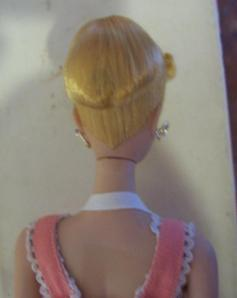 1959~Pinkdrressbox~BlondeNO1~#862 Barbie-Q Outfit ~ back
