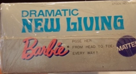 1970 JAPANESE Barbie DRAMATIC NEW LIVING label