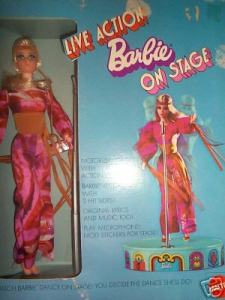1971~1152~Live Action Barbie on Stage~NRFB~$229~2005