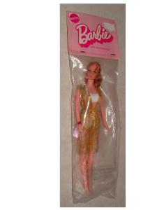 1972 1115 NoTALKING BARBIE (redhead) Baggie