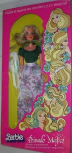 1975 Barbie QUICK CURL -  MEXICO NRFB