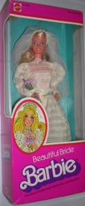 1976 Beautiful Bride Barbie Superstar Germany2NRFB