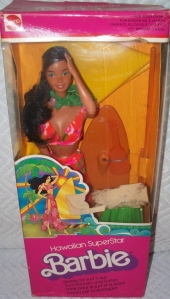 1978 #2289 Hawaiian Superstar Barbie