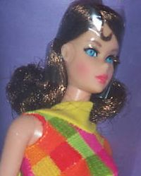 BarbieTWT~1969~Brunette~NRFB-closeup