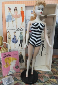 1959 #1 Sample Barbie Doll.
