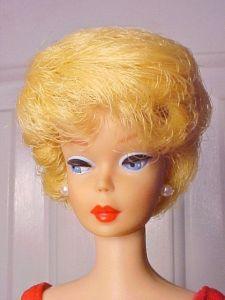 1963 Lemon Blonde Bubble Cut