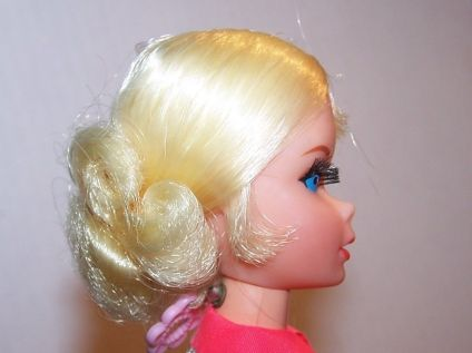 1970 Barbie Face side