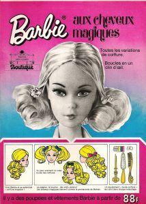 1973 Barbie Quick Gril - Mattel Belgium