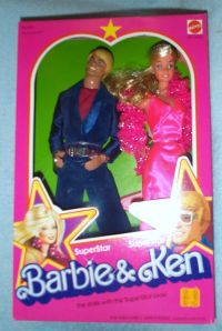 1978 SuperStar Barbie & Ken Set