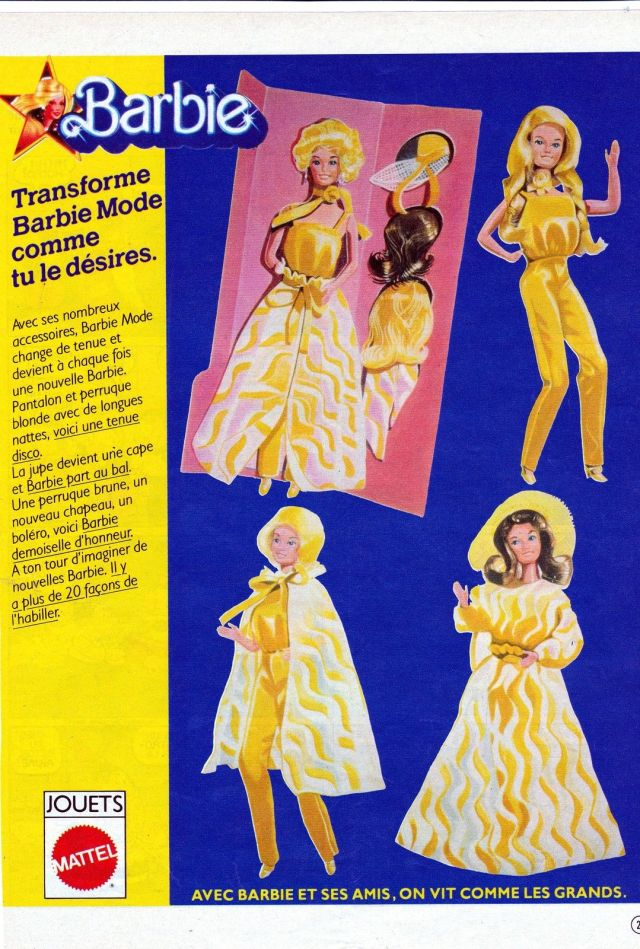 1979 Pretty Changes Barbie - AD France