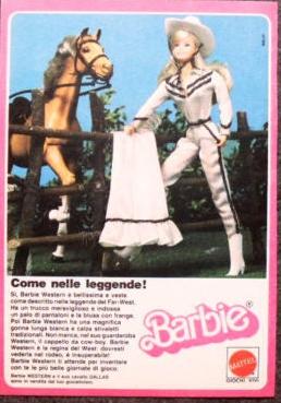 1981 Western Mattel Italy