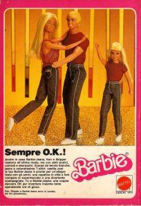 1982 Ken Skipper e Barbie-Jeans Mattel Italy