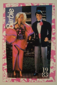 1983 Dream Date postcard