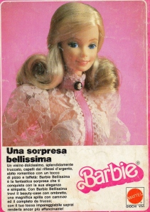 1984 Angel face Mattel Italy
