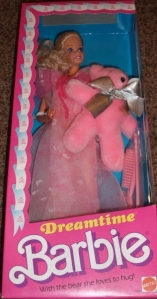 1985 Dreamtime variation color bear