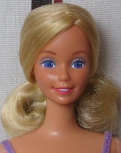 1985 Fruchlingszauber Barbie face