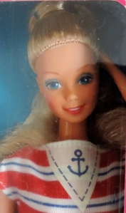 1985 Sea Lovin barbie face