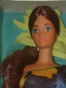 1986 TROPICAL BARBIE H face
