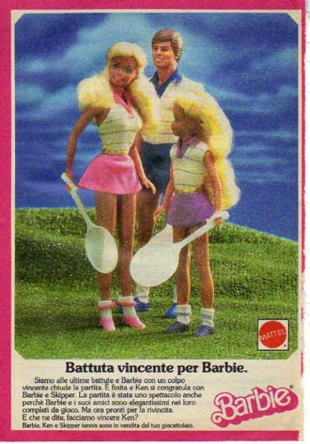 1987 Barbie Mattel Tennis Ken Skipper