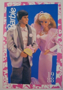 1988 Perfume Pretty postcard