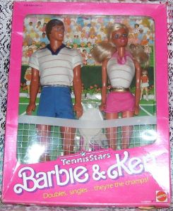 1988 Toys R Us Tennis Stars Barbie & Ken