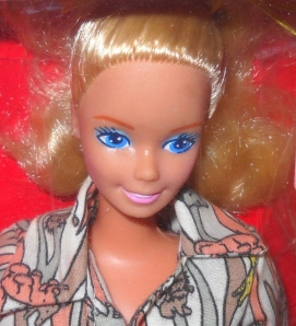 1989 Adventure Lovin' Barbie from the Philippines face