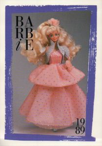 1989 Kmart Peach Pretty card
