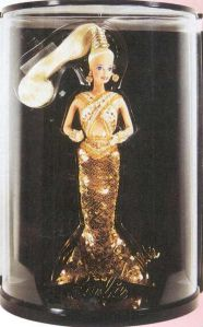 1990 1st Bob Mackie Gold Barbie® Doll