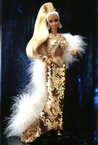 1990 Bob Mackie Gold Barbie® Doll