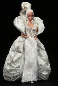 1991 Bob Mackie Platinum Barbie® Doll