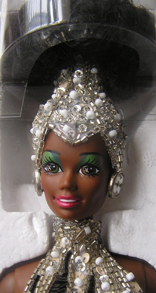 1991 Bob Mackie Starlight Splendor™ Barbie® Doll face