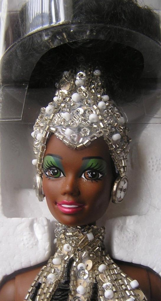 1991 Bob Mackie Starlight Splendor™ Barbie® Doll face
