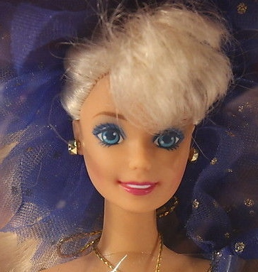1991 Service Merchandise Blue Rhapsody Close Up Barbie Doll Friends And Family History And News From 1959 To The Present
