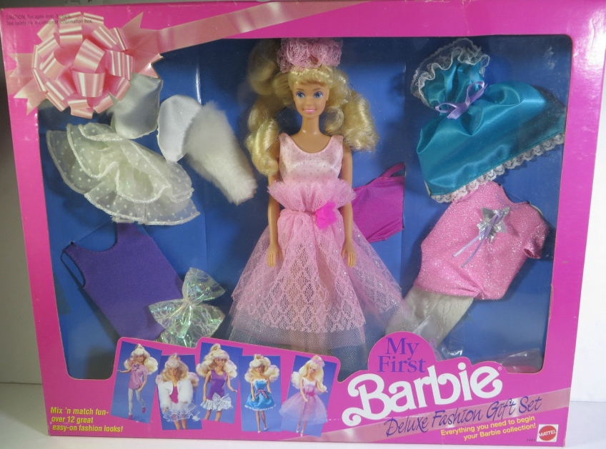 1991 Toys R Us My First Deluxe Fashion Gift Set Barbie Doll Friends And Family History And News From 1959 To The Present
