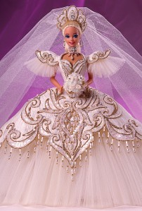 1992 Bob Mackie Empress Bride® Barbie® Doll flyer
