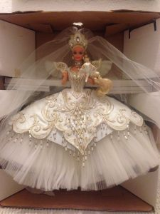1992 Bob Mackie Empress Bride® Barbie® Doll NRFB inside