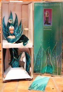 1992 Bob Mackie Neptune Fantasy™ Barbie® Doll NRFB inside