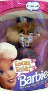 1992 Teen Talk Blonde