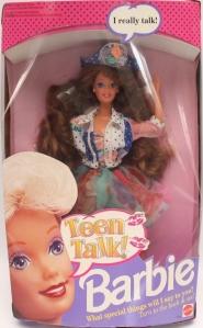 1992 Teen Talk Brunette