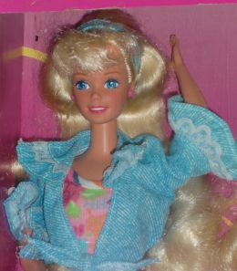 1993 Barbie Birthday fun at McDonalds's Giftset NRFB face