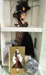 1993 Bob Mackie Masquerade Ball™ Barbie® Doll NRFB inside
