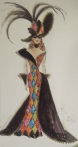 1993 Bob Mackie Masquerade Ball™ Barbie® Doll prink