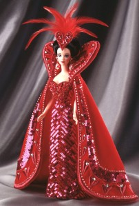 1994 Bob Mackie Queen of Hearts Barbie® Doll