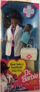 1994 Dr. Barbie AA. with AA baby